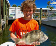 Fishing trips for children in St Andrews and Panama City FL