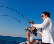 Wreck and reef fishing in the Gulf of Mexico